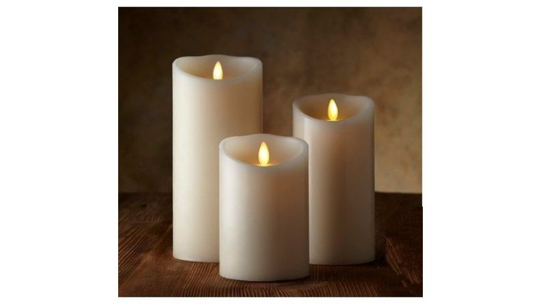 Picture of a luminary pillar candles 3x6