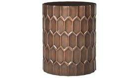 Image of a Copper Side Table