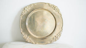 Image of a Antique Gold Platter