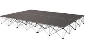 Image of a 12' by 12' Stage (LA)