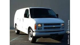Image of a 02 Chevrolet Production Van