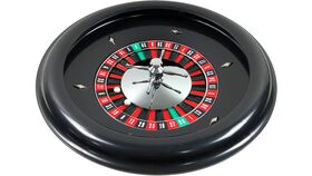 "Image of a 18"" Plastic Casino Roulette Wheel Rental"