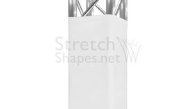 10' White Spandex Truss Sleeve Cover Rental image