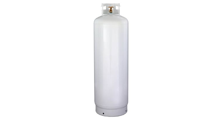 Picture of a 100lb Full Propane Tank Rental