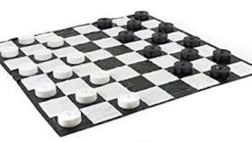 Image of a Giant Checkers Set And Board Game Package Rental