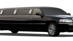 Image of a 8 Passenger Black Town Car Limousine Rental