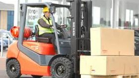 Image of a Forklift Operator (Show Call Rate)
