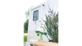 3 Stall Silver Executive Restroom Trailer w/AC image