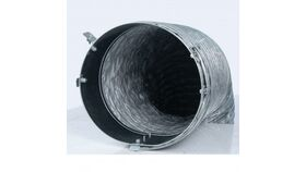 "Image of a 12""D x 1""L Grey LB White 26346 Distribution Duct Kit Rental"
