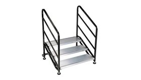 Image of a 3 Step Wenger Stagetek Stage Stairs w/Rail Rental