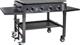 "Image of a 48"" - 4 Burner Event Gas/Propane Flat Top Griddle Rental"