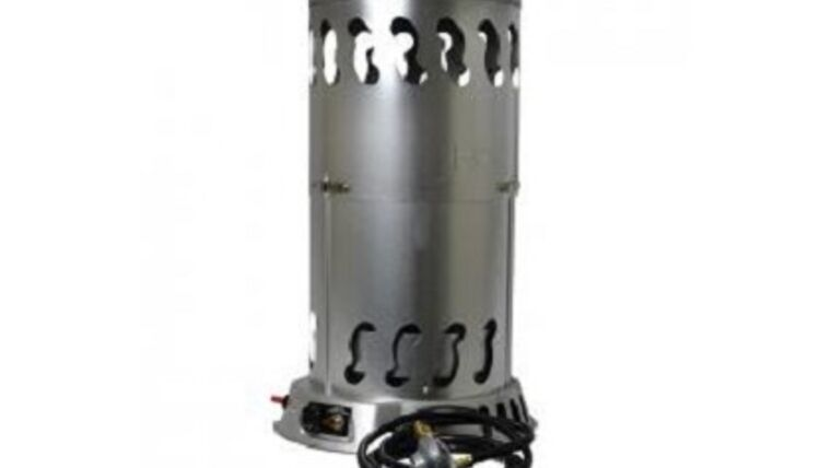 Picture of a 400K BTU Convection Propane Heater Rental