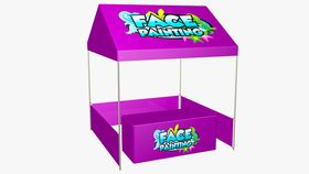 Face Painting Tent Package image
