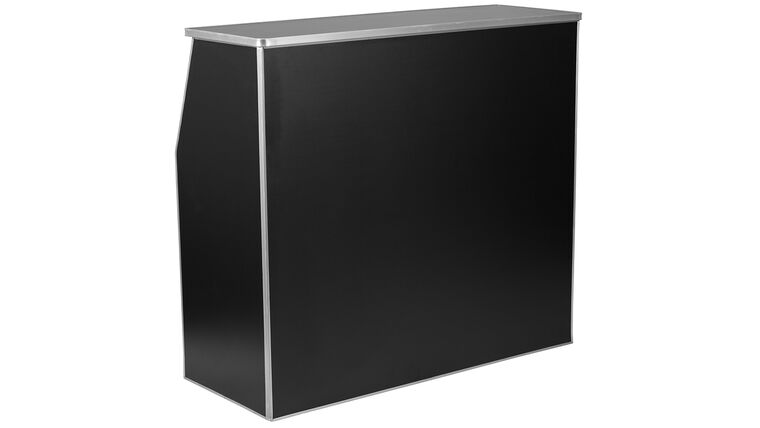 Picture of a 4' Black Folding Bar