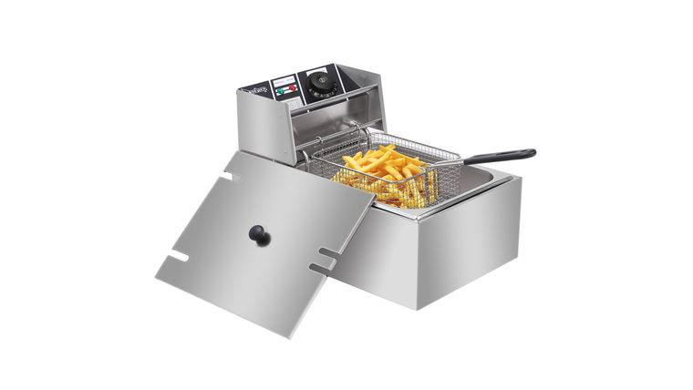 Picture of a 1 Basket Commercial Table Top Electric Deep Fryer Rental