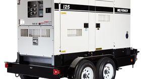 Image of a 100kw - 125 kVA Diesel Generator Rental