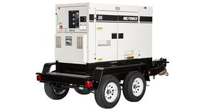 Image of a 36 kW Single Phase generator with 1.0 power factor and 12/240 volt output.