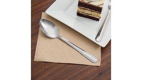 "6 7/8"" Dominion Stainless Steel Dessert Spoon Rental image"