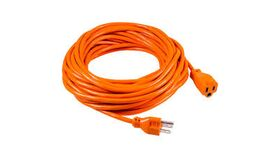 Image of a 100' Orange 14/3 AC Power Extension Cable Rental