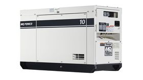 Image of a 10 kW Single Phase generator with 1.0 power factor and 120/240 volt output.