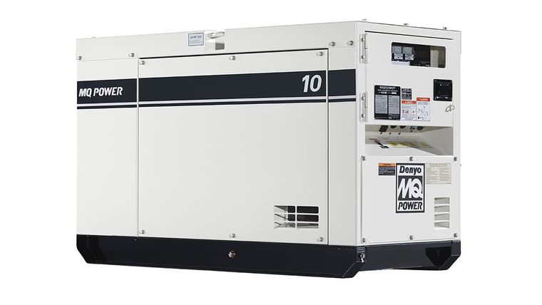 Picture of a 10 kW Single Phase generator with 1.0 power factor and 120/240 volt output.