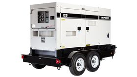 Image of a 125 kVA and a standby rating of 110 kW (137.5 kVA).