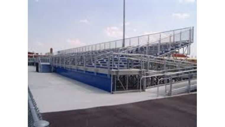 Picture of a Custom Build Bleachers / Grandstands From 100-50,000 People