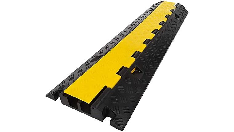 Picture of a 2 Channel Cable Ramp Rental