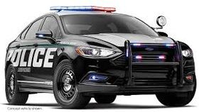 Image of a Real Life Police Car (Marked) Rental