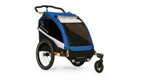 Image of a Children's Bike Trailer & Double Stroller