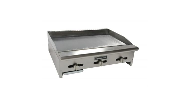 "Picture of a 36"" Stainless Steel Griddle Top"