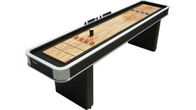 Image of a 9' Atomic Shuffle Board Table