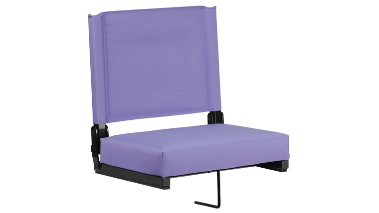 Picture of a Purple Grandstand Comfort Seats by Flash with Ultra-Padded Seat
