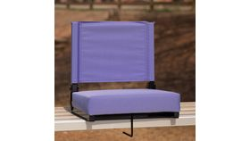 Purple Grandstand Comfort Seats by Flash with Ultra-Padded Seat image