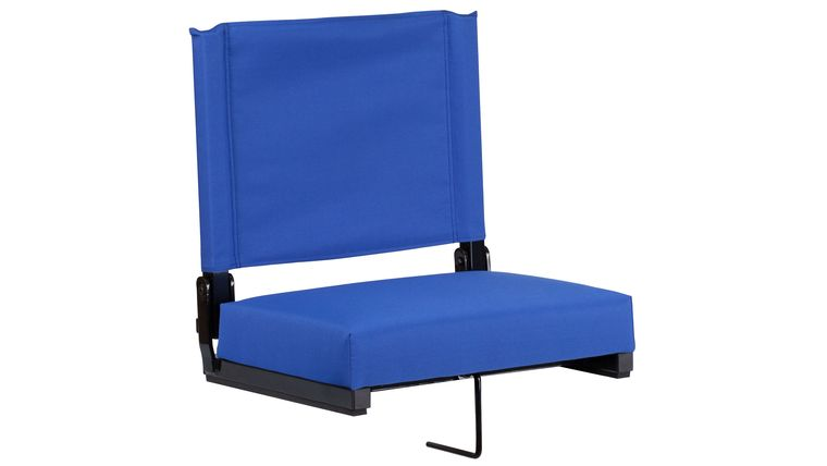 Picture of a Blue Grandstand Comfort Seats by Flash with Ultra-Padded Seat