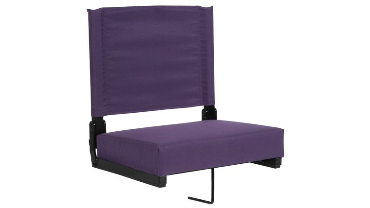 Picture of a Dark Purple Grandstand Comfort Seats by Flash with Ultra-Padded Seat