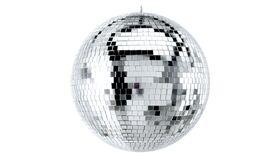 "Image of a 60"" Round Disco Mirror Ball (Silver)"