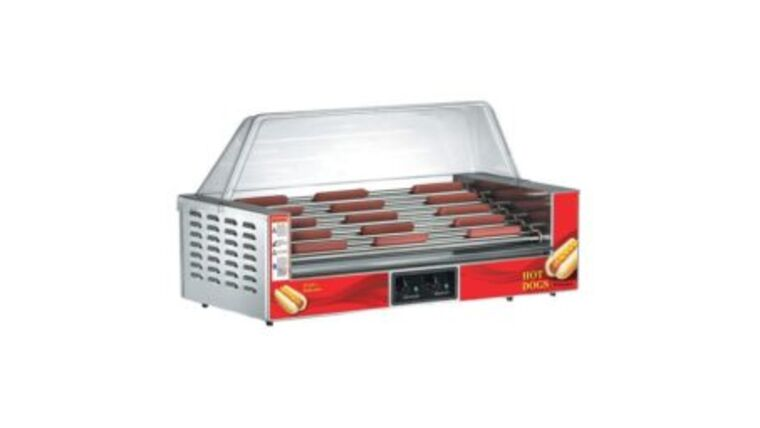 Picture of a Hot Dog - Rotisserie Machine