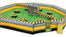 Image of a Inflatable Meltdown Game