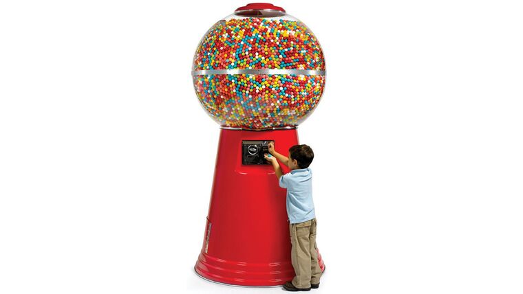 Picture of a Big Mamma Gum Ball Machine
