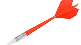 Image of a Darts - Red Plastic Dart
