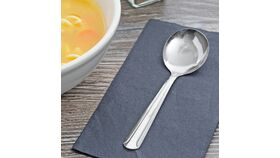 "5 7/8"" Dominion Stainless Steel Bullion Spoon image"