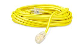 Image of a 100' Yellow 14/3 AC Power Cable