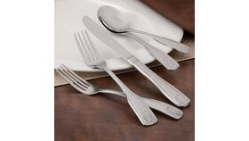 """8 3/4"""" Fanfare Stainless Steel Heavy Weight Dinner Knife image"""