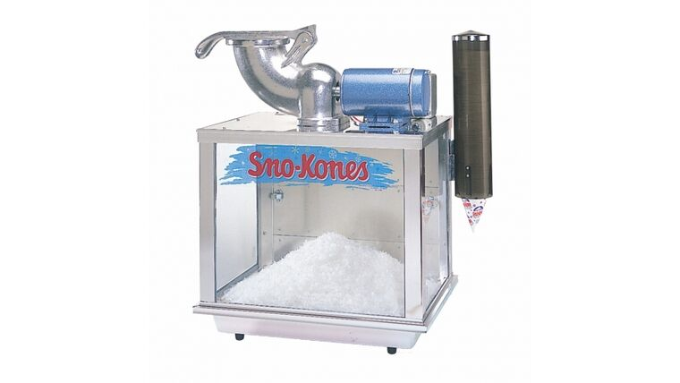 Picture of a Commercial Sno Cone Machine