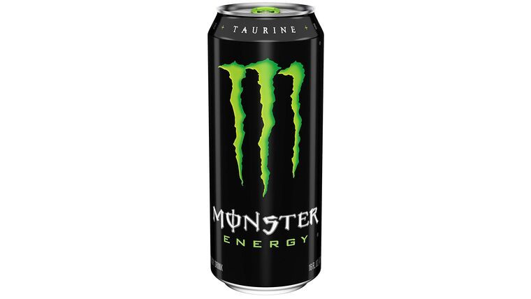 Picture of a 16 oz. Monster Energy Drink