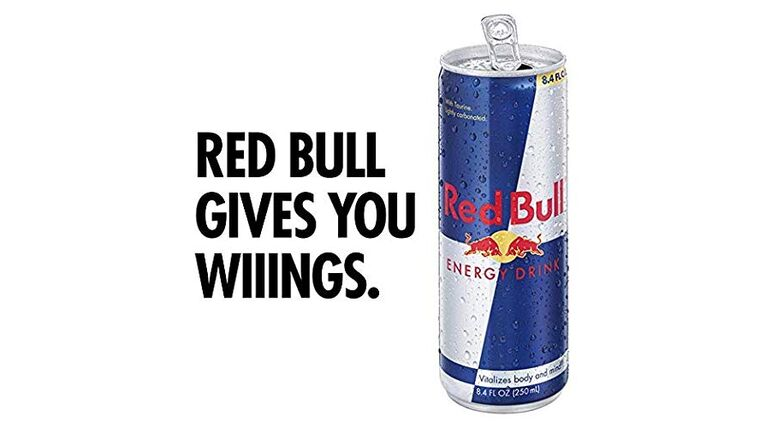 Picture of a 8.4 oz. Red Bull Energy Drink