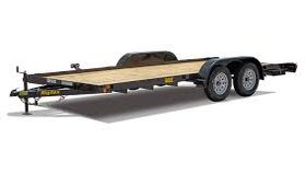 Image of a 16' Flatbed Car Trailer
