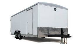 Image of a 8' x 24' x 7.5' Enclosed Car Trailer
