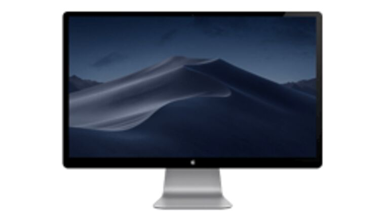 """Picture of a 27"""" Cinema Display"""